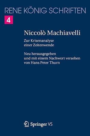 Niccolo Machiavelli af Hans Peter Thurn