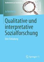 Qualitative Und Interpretative Sozialforschung (Studientexte Zur Soziologie)