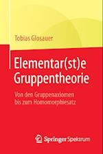 Elementar(st)E Gruppentheorie