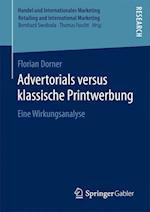 Advertorials Versus Klassische Printwerbung (Handel Und Internationales Marketing Retailing and Internati)