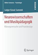 Neurowissenschaften Und Musikpadagogik (Edition Centaurus Psychologie)
