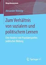 Zum Verhaltnis Von Sozialem Und Politischem Lernen (Burgerbewusstsein)