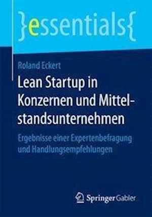Bog, paperback Lean Startup in Konzernen Und Mittelstandsunternehmen af Roland Eckert