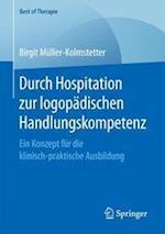 Durch Hospitation Zur Logopadischen Handlungskompetenz (Best of Therapie)