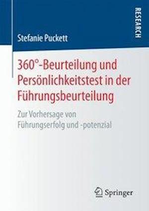Bog, paperback 360 -Beurteilung Und Personlichkeitstest in Der Fuhrungsbeurteilung af Stefanie Puckett