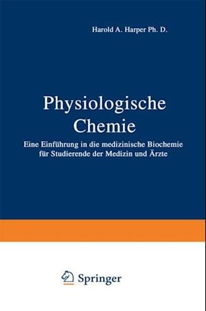 Physiologische Chemie af L. Weiss