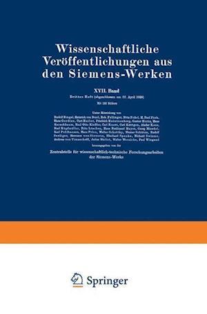 Wissenschaftliche Veroffentlichungen Aus Den Siemens-Werken af Rudolf Bingel, Wilhelm Bussem, Bodo Von Borries