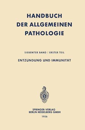 Entzundung Und Immunitat af Hans-Werner Altmann, Adolf Butenandt, Ambrosius Von Albertini