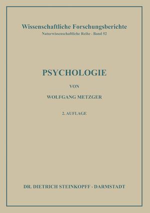 Psychologie af Philip G. Zimbardo, Wolfgang Metzger