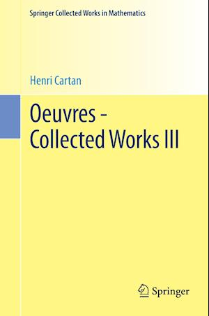Oeuvres - Collected Works III af Henri Cartan