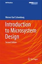 Introduction to Microsystem Design af Werner Karl Schomburg