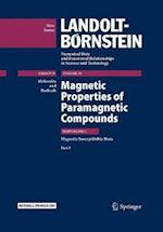 Magnetic Properties of Paramagnetic Compounds af R. T. Pardasani, P. Pardasani