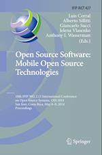 Open Source Software (Ifip Advances in Information and Communication Technology, nr. 427)