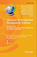 Advances in Production Management Systems: Innovative and Knowledge-Based Production Management in a Global-Local World (Ifip Advances in Information and Communication Technology, nr. 439)