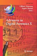 Advances in Digital Forensics X (Ifip Advances in Information and Communication Technology, nr. 433)