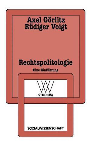 Rechtspolitologie af Axel Gorlitz, Voigt R. Diger