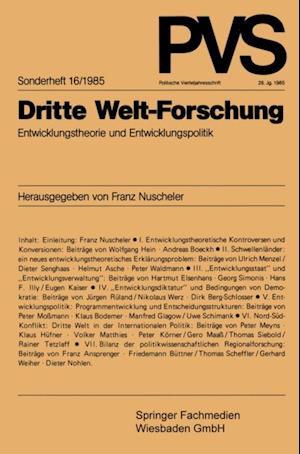 Dritte Welt-Forschung af Prof. Dr. Franz Nuscheler
