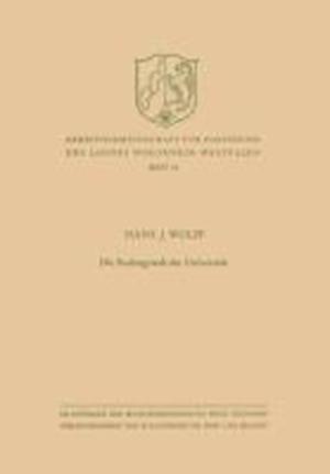 Die Rechtsgestalt Der Universitat af Hans J. Wolff, Hans J. Wolff