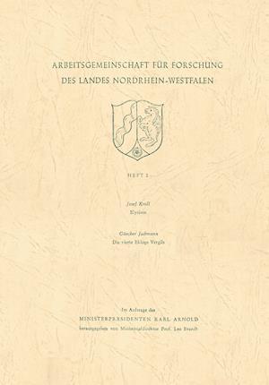 Elysium. Die Vierte Ekloge Vergils af Gunther Kroll