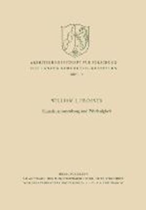 Kausalzusammenhang Und Fahrlassigkeit af William Lloyd Prosser, William Lloyd Prosser