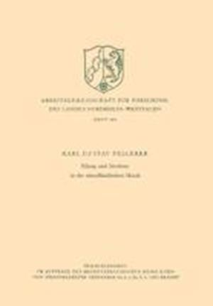 Klang Und Struktur in Der Abendlandischen Musik af Karl Gustav Fellerer, Karl Gustav Fellerer