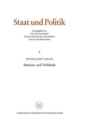 Parteien Und Verbande af Heinz Josef Varain