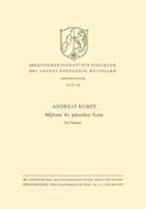 Stilphasen Der Spatantiken Kunst af Andreas Rumpf