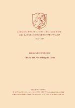 Theorie Und Anwendung Des Lasers af Herbert Doring