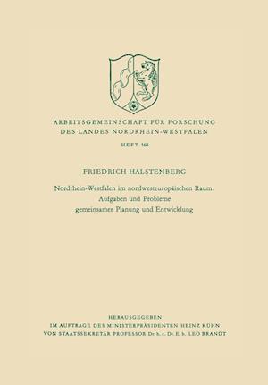 Nordrhein-Westfalen Im Nordwesteuropaischen Raum af Friedrich Halstenberg