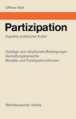 Partizipation af Ulrich Von Pufendorf, K. Friedrich Schade, Helga Boss-Stenner