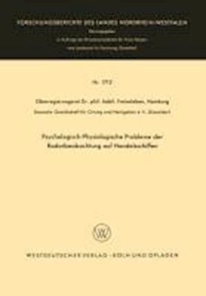 Psychologisch-Physiologische Probleme Der Radarbeobachtung Auf Handelsschiffen af Hans Christian Freiesleben, Hans Christian Freiesleben