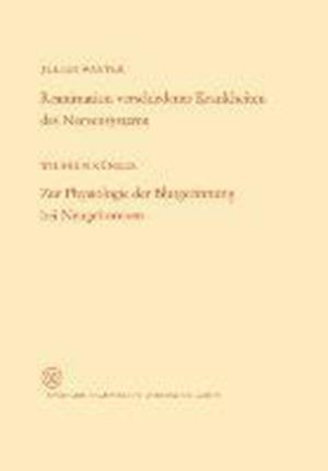 Reanimation Verschiedener Krankheiten Des Nervensystems / Zur Physiologie Der Blutgerinnung Bei Neugeborenen af Wilhelm Warter