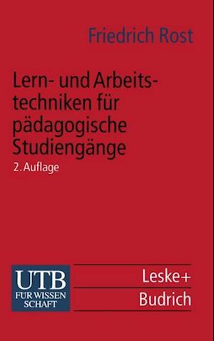 Lern- und Arbeitstechniken fur padagogische Studiengange