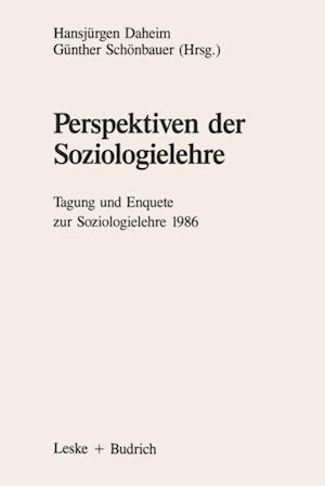 Perspektiven der Soziologielehre