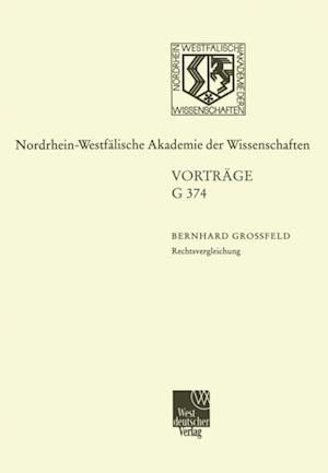 Rechtsvergleichung af Bernhard Grofeld