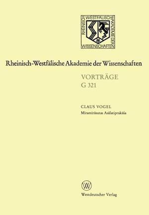 Miramirasutas Asalatiprakasa af Claus Vogel