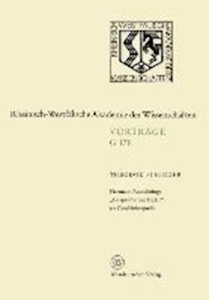 Hermann Rauschnings Gesprache Mit Hitler ALS Geschichtsquelle af Theodor Schieder