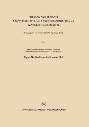 Algen-Grokulturen im Sommer 1951 af Maria-Elisabeth Meffert