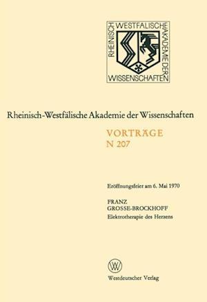 Elektrotherapie des Herzens af Franz Grosse-Brockhoff