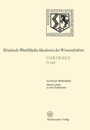 Martin Luther in zwei Funktionen af Gustaf Wingren