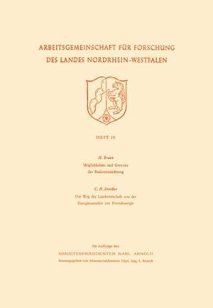 Moglichkeiten und Grenzen der Resistenzzuchtung / Der Weg der Landwirtschaft von der Energieautarkie zur Fremdenergie af Hans Braun