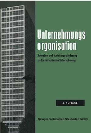 Unternehmungsorganisation af Arbeitskreis Dr. Krahe
