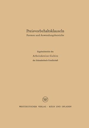 Preisvorbehaltsklauseln af H. Muller, O. Hess, G. Danert