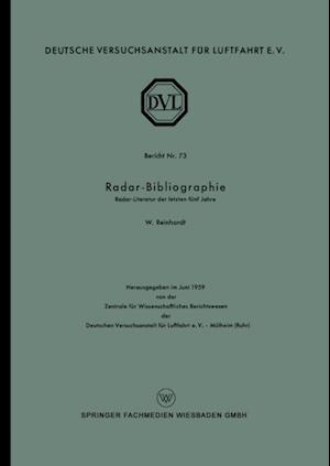 Radar-Bibliographie af Wolfgang Reinhardt