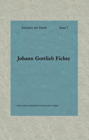 Schriften zur Revolution af Johann Gottlieb Fichte