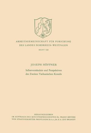 Selbstverstandnis und Perspektiven des Zweiten Vatikanischen Konzils af Joseph Hoffner