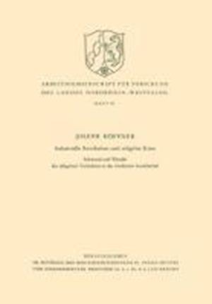 Industrielle Revolution Und Religiose Krise af Joseph Hoffner