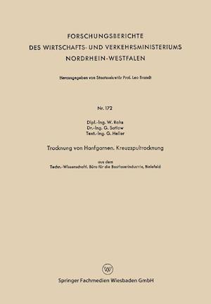 Trocknung Von Hanfgarnen. Kreuzspultrocknung af Waldemar Rohs