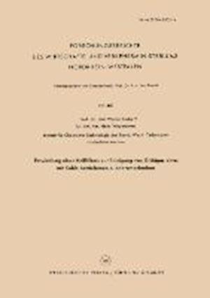 Entwicklung Eines Heissfilters Zur Reinigung Von Gichtgas Eines Mit Kohle Betriebenen Niederschachtofens af Walter Maximilian Fuchs, Walter Maximilian Fuchs