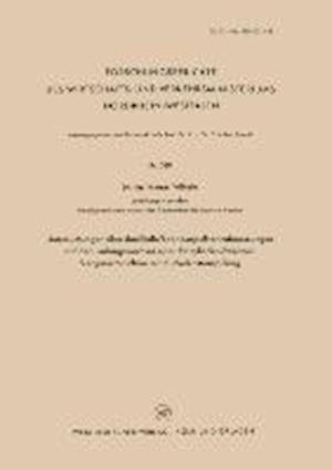 Untersuchungen Uber Den Einfluss Der Auspuffrohrabmessungen Auf Den Ladungswechsel Einer Einzylinder-Zweitakt-Vergasermaschine Mit Kurbelkastenspulung af Werner Wilhelm
